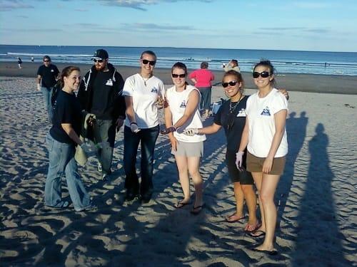 Blue Ocean Society – Beach Cleanup at Jenness Beach